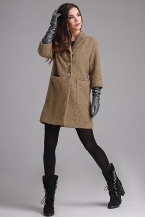 Пальто Teffi style 1304 олива