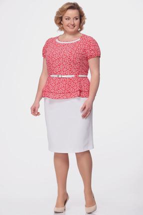 Купить Комплект юбочный Michel Chic 521 красные тона, Юбочные, 521, красные тона, 37% вискоза, 60% п/э, 3% эластан, Мультисезон