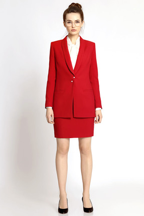 Комплект юбочный PIRS 342 красный