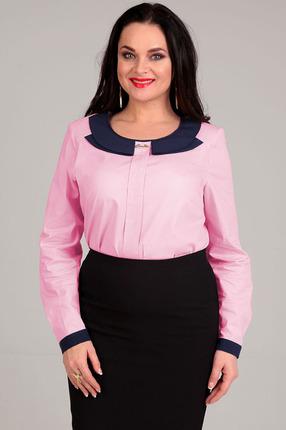 Купить Блузка Таир-Гранд 62230 розовый, Блузки, 62230, розовый, Хлопок –97%, ликра - 3%., Мультисезон