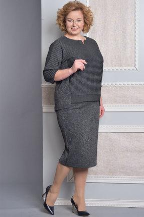 Комплект юбочный Lady Style Classic 1374 серый
