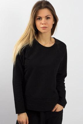 Купить Спортивная кофта Mirolia 409 черный, Спортивные кофты, 409, черный, Хлопок 95%+ПЭ 5%, Мультисезон