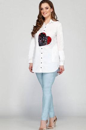 Купить Комплект брючный Bonna Image 255.1 белый, Брючные, 255.1, белый, Рубашка - 100% Х/б Брюки - 100% ПЭ, Мультисезон