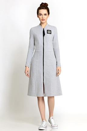 Спортивное платье PIRS 352 серый