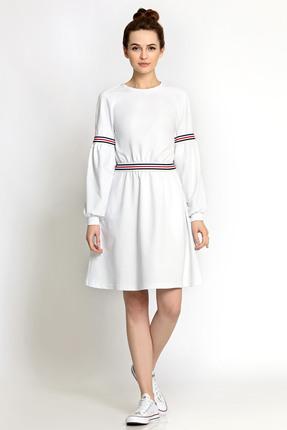 Спортивное платье PIRS 353 белый