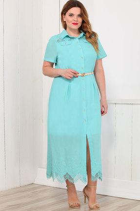 Купить Платье Bonna Image 16-165 голубой, Платья, 16-165, голубой, 100% Хлопок, Лето