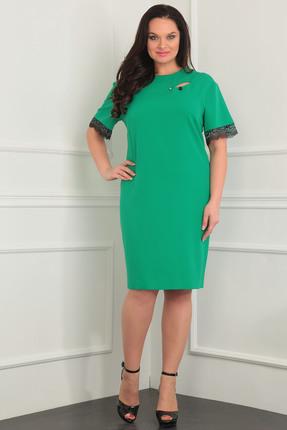 Купить Платье Milana 813 зеленые тона, Платья, 813, зеленые тона, Костюмно-плательная Состав: вискоза-40%, ПЭ-55%, спандекс-5%, Мультисезон