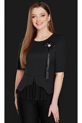 Купить со скидкой Блузка DiLiaFashion 0104 черный