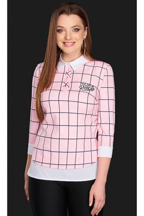 Купить со скидкой Блузка DiLiaFashion 0084 розовый
