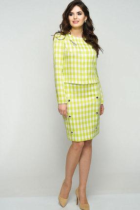 Купить со скидкой Комплект юбочный Elga 22-537 салатовые тона