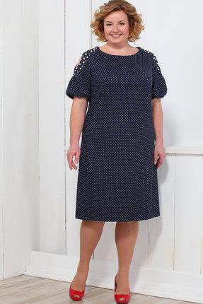 Купить Платье Bonna Image 336 тёмно-синий, Платья, 336, тёмно-синий, 71% Хлопок, 24% ПЭ, 5% Спандекс, Мультисезон