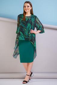 Комплект юбочный Anastasia 187 зеленый