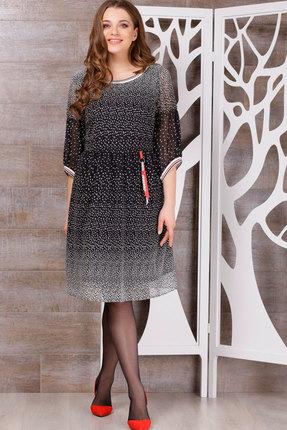 Купить Платье ТАиЕР 680 чёрный, Платья, 680, чёрный, ПЭ 100%, Мультисезон