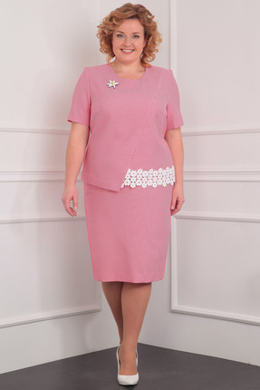 Купить Комплект юбочный Milana 952 розовые тона, Юбочные, 952, розовые тона, Костюмно-плательная, Мультисезон