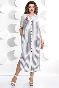 Платье Мублиз 226 молочно-белый