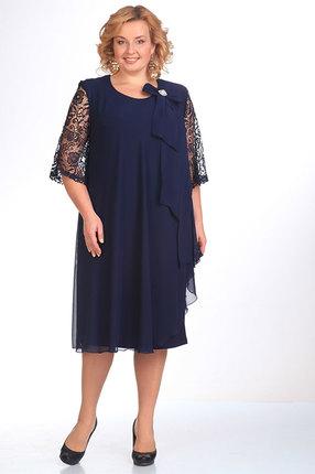 Платье Pretty 254 темно синий
