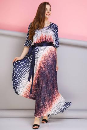Купить Платье Anastasia 263 коралл, Платья, 263, коралл, ПЭ-95%, Вискоза-5%, Мультисезон