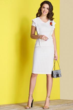 Купить Комплект юбочный Lissana 3426 белый, Юбочные, 3426, белый, ПЭ 100%, Лето