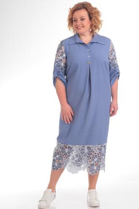 Фото - Платье Pretty 707 синий синего цвета