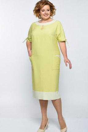 Купить Платье Elga 01-546 горчица , Платья, 01-546, горчица , 68% Вискоза+30% ПЭ+2% Спандекс, Лето
