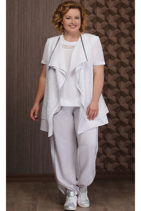 Комплект брючный Aira Style 620 белый