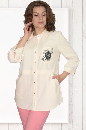 Рубашка Needle Ревертекс 370/2 молочный