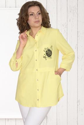 Купить Рубашка Needle Ревертекс 370/3 лимон , Рубашки, 370/3, лимон , 100% хлопок, Лето