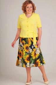 Комплект юбочный Асолия 1178 жёлтый