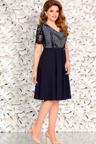 Платье Mira Fashion 4431 тёмно-синий