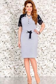 Платье Mira Fashion 4441 синий
