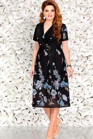 Платье Mira Fashion 4443 чёрный