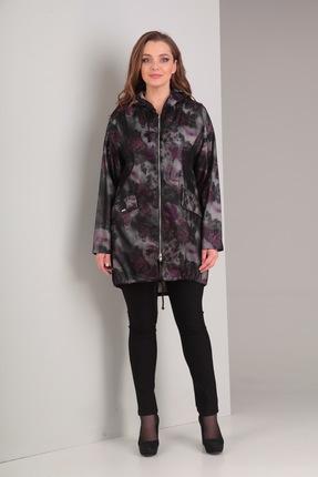 Куртка Диамант 1201 фиолетовые тона