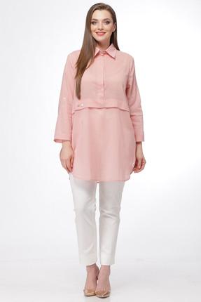 Купить Комплект брючный Michel Chic 560 светло розовый, Брючные, 560, светло розовый, 97% хлопок, 3% пэ, Мультисезон