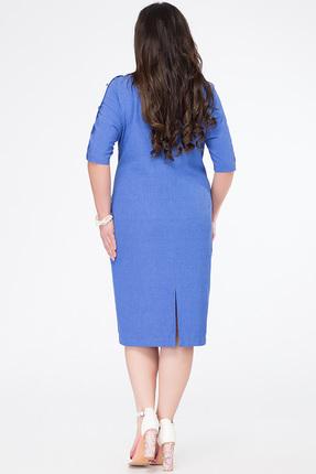 Фото 2 - Платье Avanti Erika 633-1 синие тона цвет синие тона