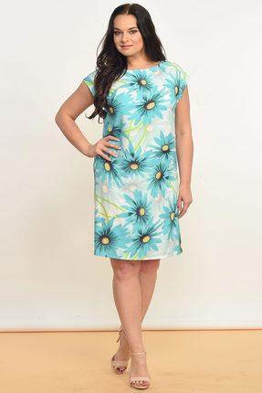 Купить Платье Lady Style Classic 935 мята, Платья, 935, мята, Вискоза 75%+ПЭ 22%+ПУ 3%, Лето