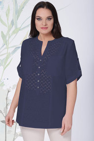Блузка LeNata 12895 синий