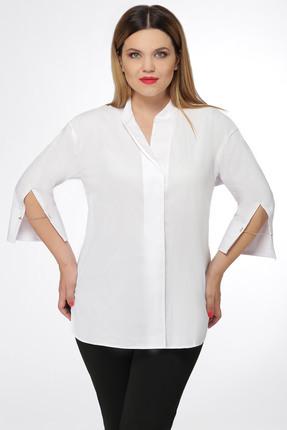 Купить Блузка Дали 5295 белые тона, Блузки, 5295, белые тона, хб 45%, пэ 27%, вискоза 25%, спандекс 3%, Лето