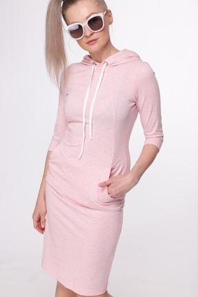 Спортивное платье HIT 4005 розовый