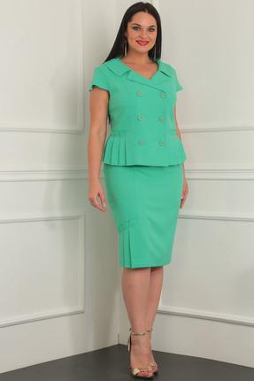 Комплект юбочный Milana 934 зеленые тона