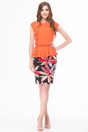 Комплект юбочный Michel Chic 517 оранжевый
