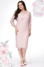 Платье LeNata 11907 пудра