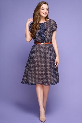 Купить Платье Магия Моды 1310 синий, Платья, 1310, синий, ПЭ 100%, Мультисезон