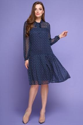 Купить Платье Магия Моды 1364 Синие тона, Платья, 1364, Синие тона, ПЭ 100%, Мультисезон