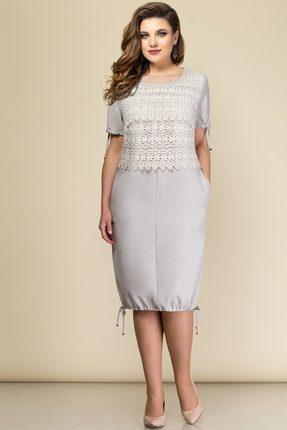 Купить Платье Elady 2848-1 серый, Платья, 2848-1, серый, Лен 50%+Нейлон 25%+Вискоза 25%, Лето