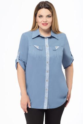 Купить со скидкой Рубашка Дали 405 голубой