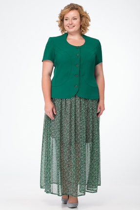 Комплект юбочный Michel Chic 544 зеленый