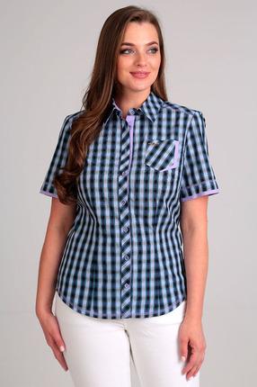 Купить со скидкой Рубашка Таир-Гранд 62267-2 сиреневая отделка