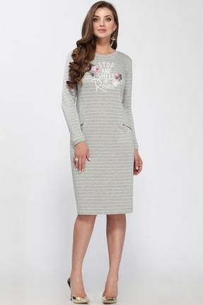 Купить со скидкой Платье Matini 31150 светло-серые тона