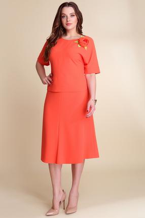 Фото #1: Комплект юбочный Магия Моды 1241 красные тона
