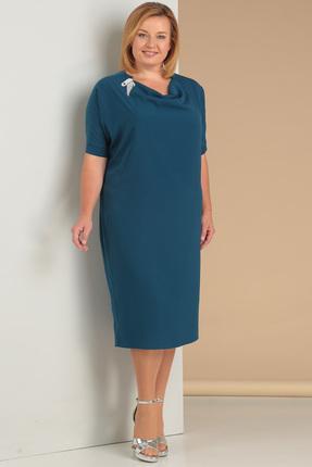 Купить Платье Новелла Шарм 3015 морская волна , Платья, 3015, морская волна , шифон (пэ 100%%), Лето